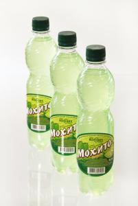 """Безалкогольный среднегазированный напиток """"Мохито"""" (0,5 л) - со вкусом мяты и лайма"""